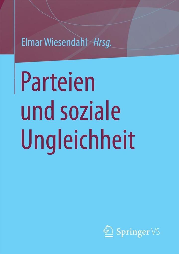 Parteien und soziale Ungleichheit als eBook Dow...