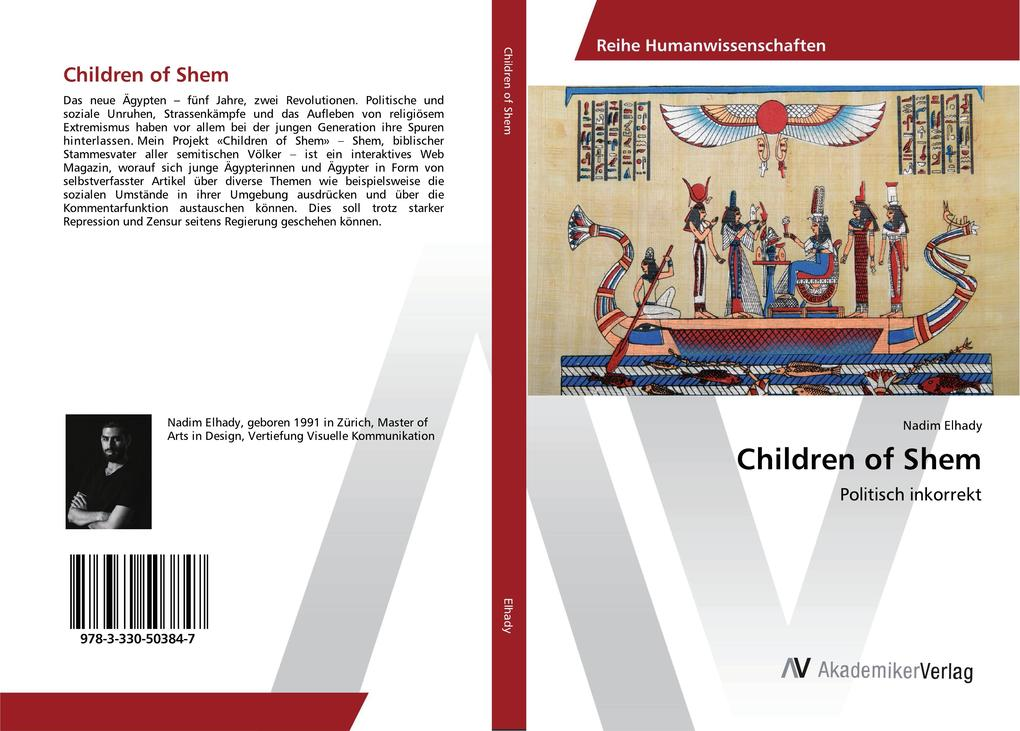 Children of Shem als Buch von Nadim Elhady