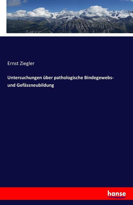 Untersuchungen über pathologische Bindegewebs- ...