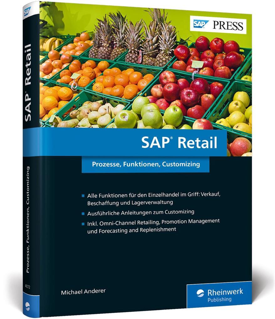 SAP Retail als Buch von Michael Anderer