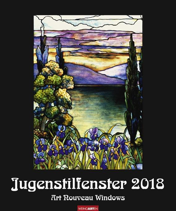 Jungendstilfenster - Kalender 2018
