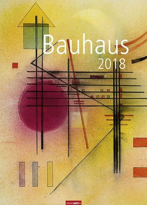 Bauhaus - Kalender 2018