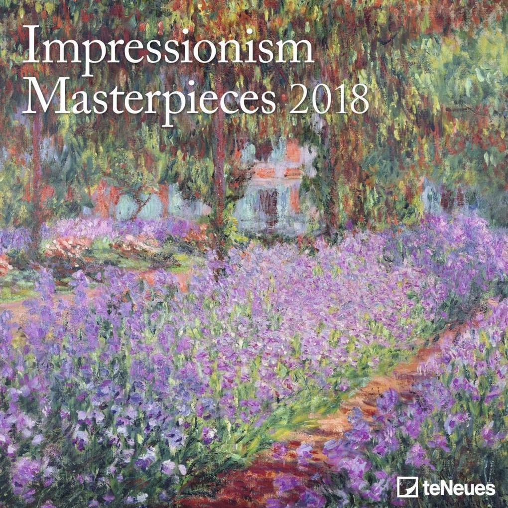 Impressionism Masterpieces 2018 Broschürenkalender