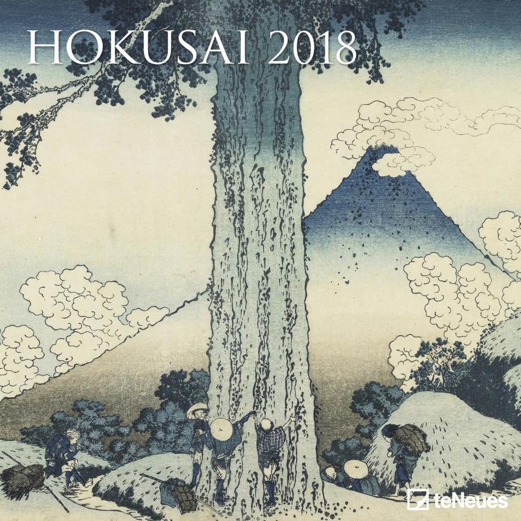 Hokusai 2018 Broschürenkalender
