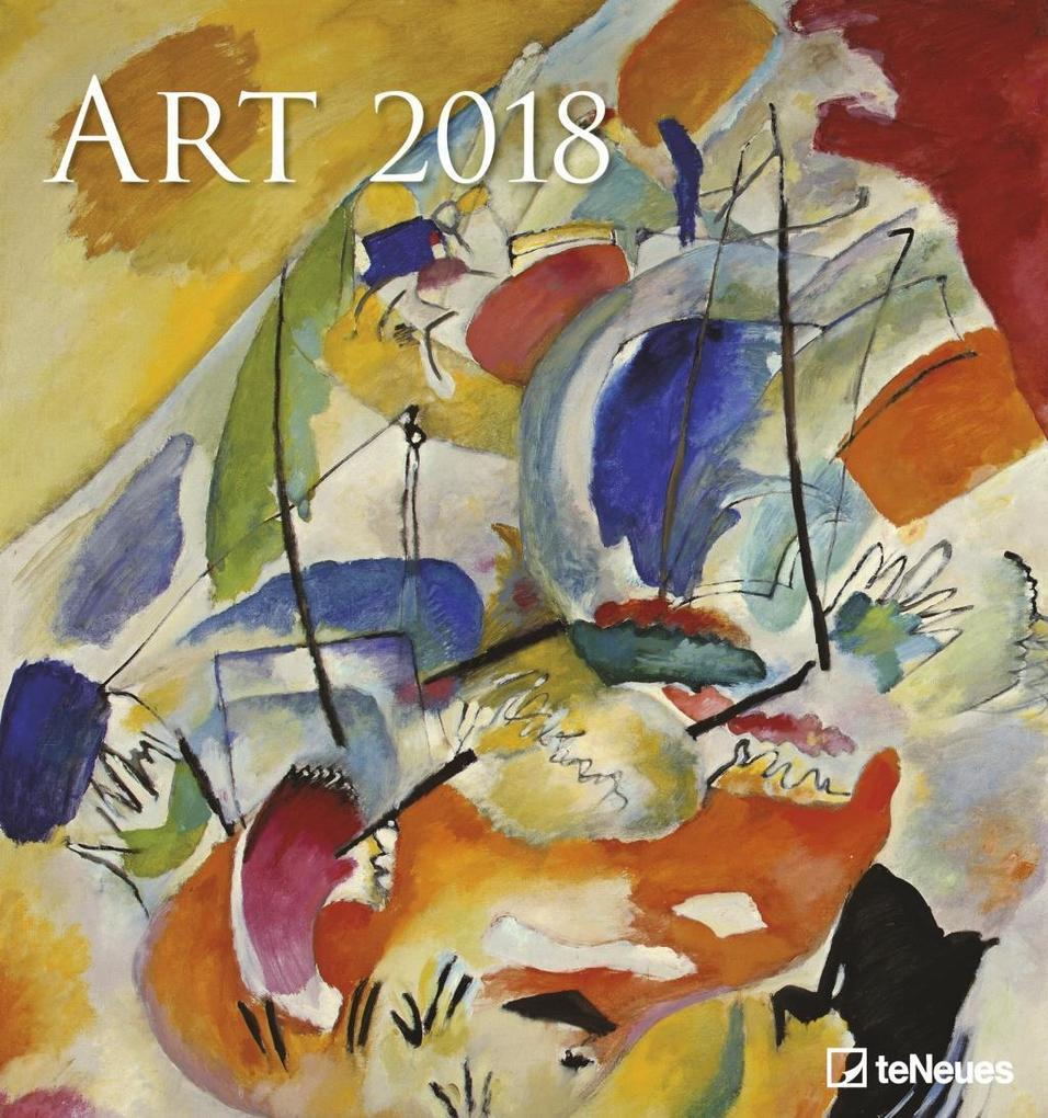 ART 2018 Kunstkalender