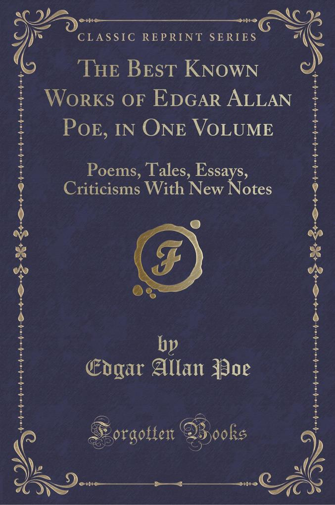 the life and poetry works of edgar allan poe