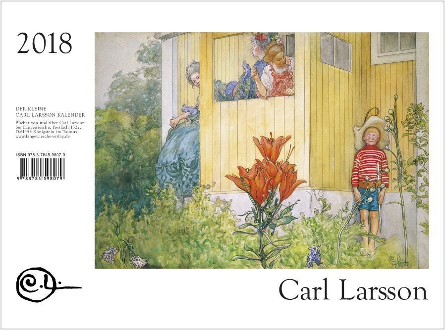 Der Kleine Carl Larsson-Kalender 2018