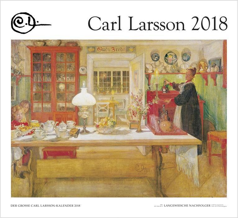 Der Große Carl Larsson-Kalender 2018