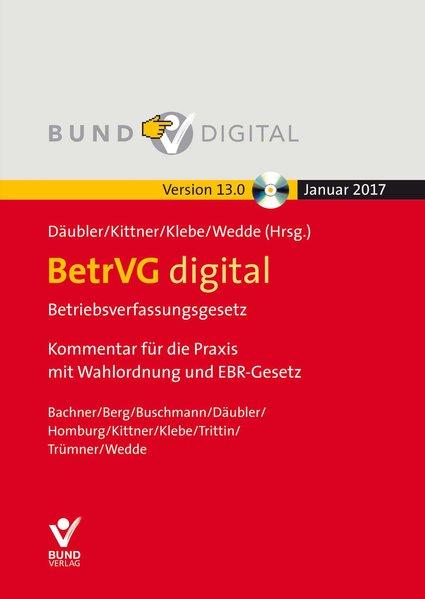 BetrVG digital (Version 13.0 ) Einzelbezug