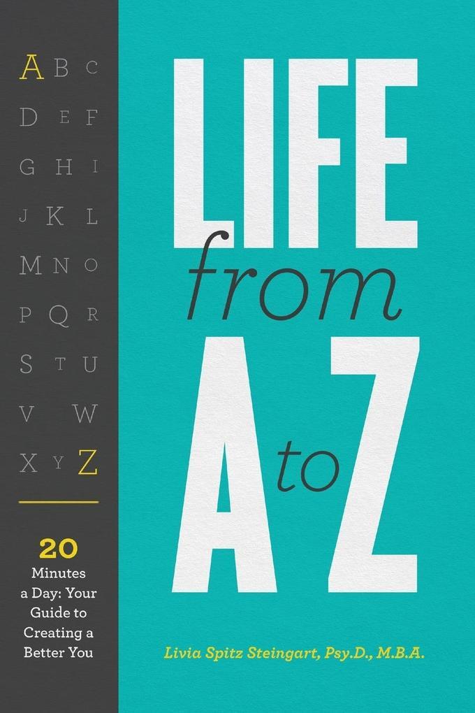 Life From A to Z als Taschenbuch von Dr. Livia ...