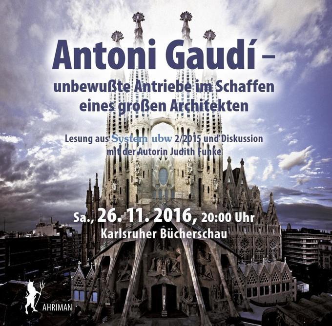 Antoni Gaudi - unbewußte Antriebe im Schaffen e...
