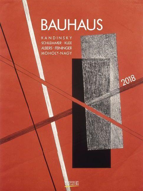 Bauhaus 2018. Kunst Gallery Kalender