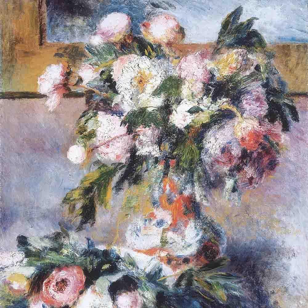 Renoir Flower Sill Life 2018 Expressio-/Impress...