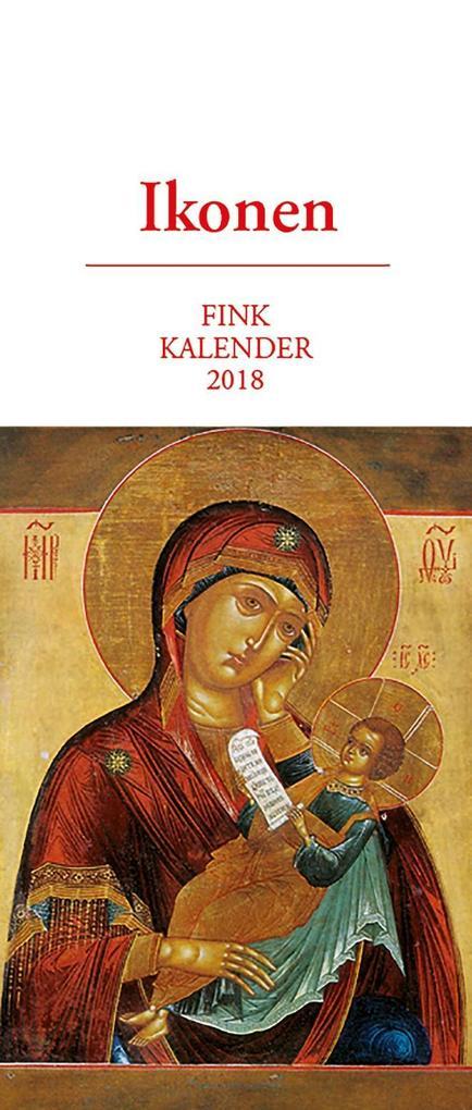 Ikonen 2018. Kunst-Postkartenkalender