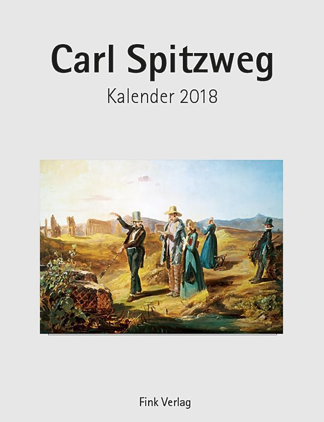 Carl Spitzweg 2018. Kunstkarten-Einsteckkalender
