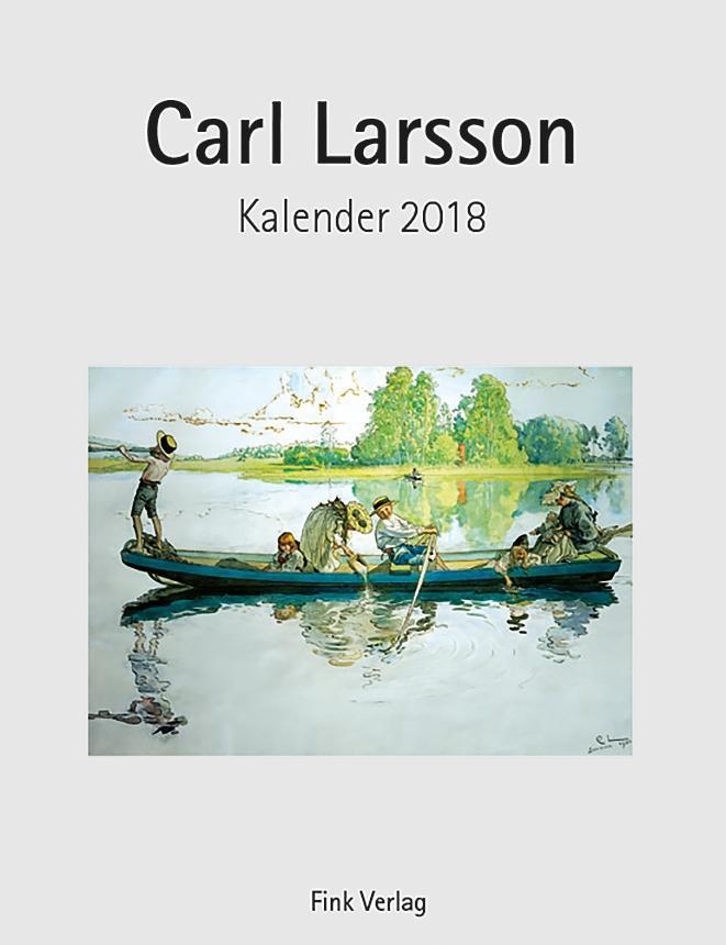 Carl Larsson 2018. Kunstkarten-Einsteckkalender