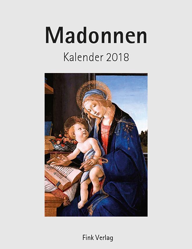 Madonnen 2018 Kunst-Einsteckkalender