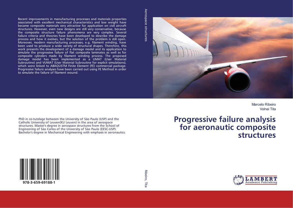Progressive failure analysis for aeronautic com...
