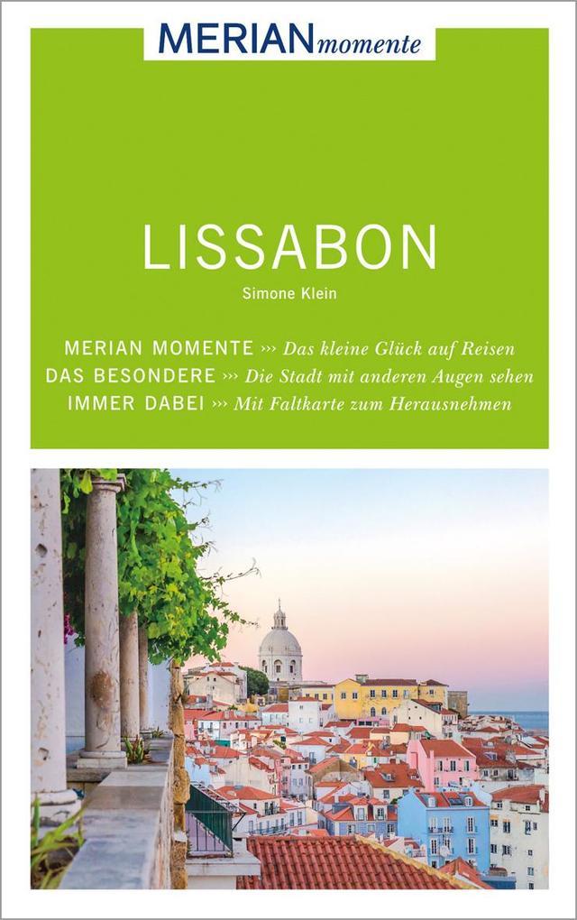 MERIAN momente Reiseführer Lissabon als Buch vo...