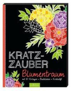 Kratzzauber Blumentraum als Buch von