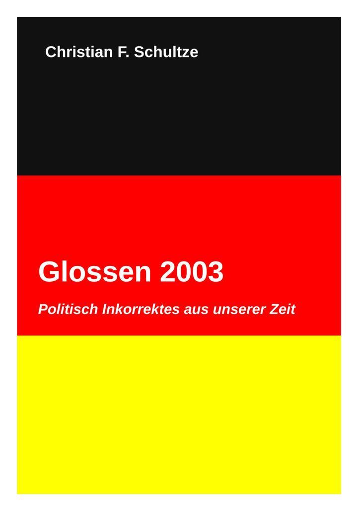 Glossen 2003 als eBook Download von Christian F...