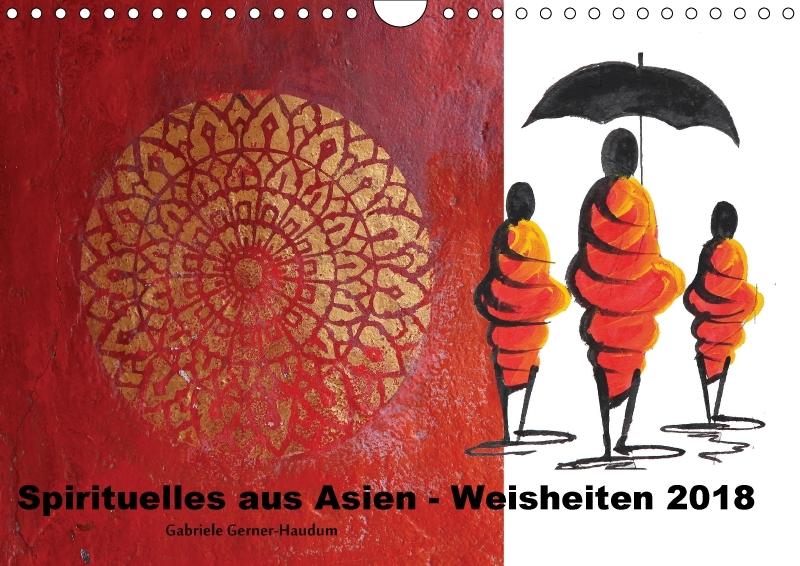 Spirituelles aus Asien - Weisheiten 2018 (Wandk...