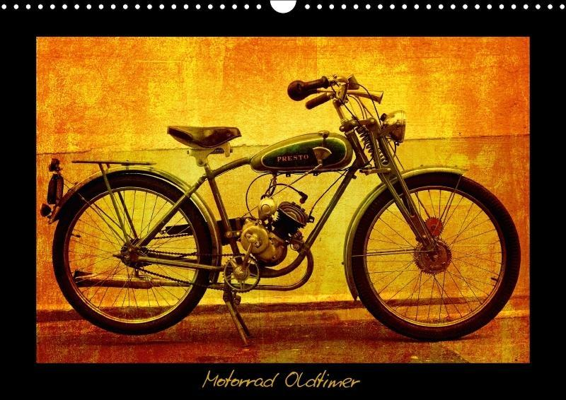 Motorrad Oldtimer (Wandkalender 2018 DIN A3 quer)