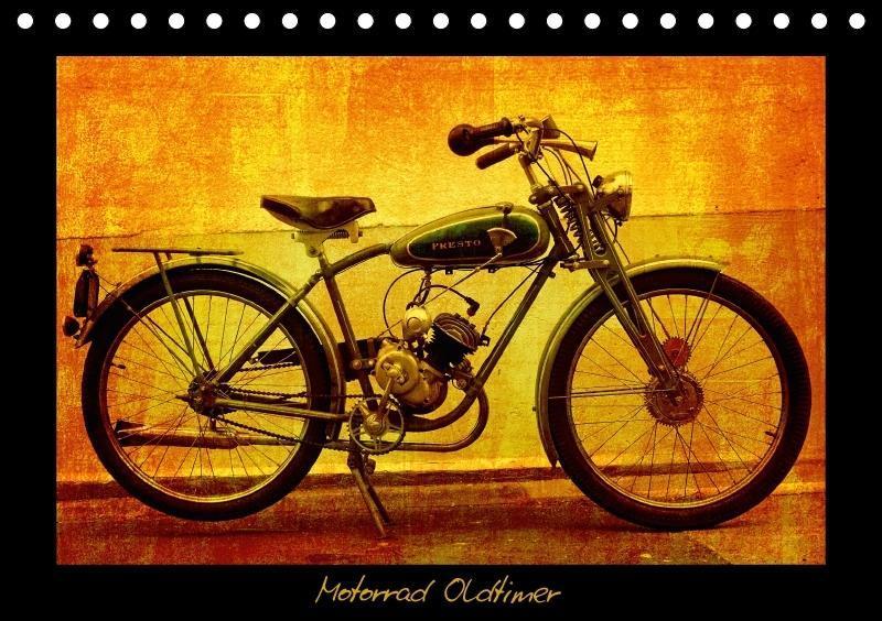 Motorrad Oldtimer (Tischkalender 2018 DIN A5 quer)