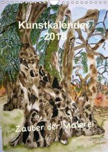 Kunstkalender 2018 - Zauber der Malerei (Wandka...