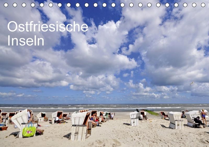 Ostfriesische Inseln (Tischkalender 2018 DIN A5...