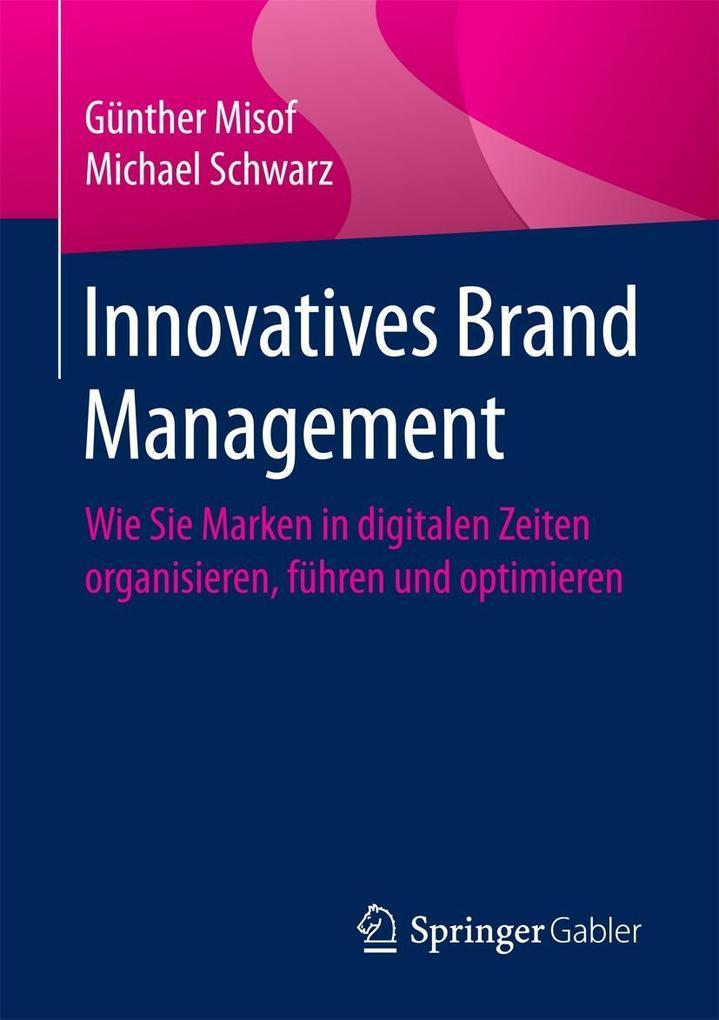 Innovatives Brand Management als eBook Download...