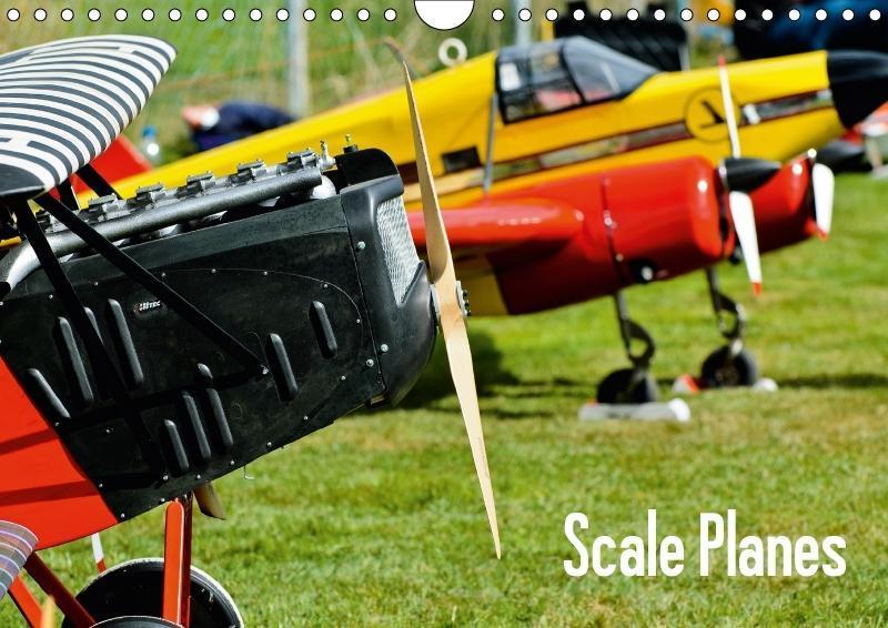 Scale Planes / UK-Version (Wall Calendar 2018 D...