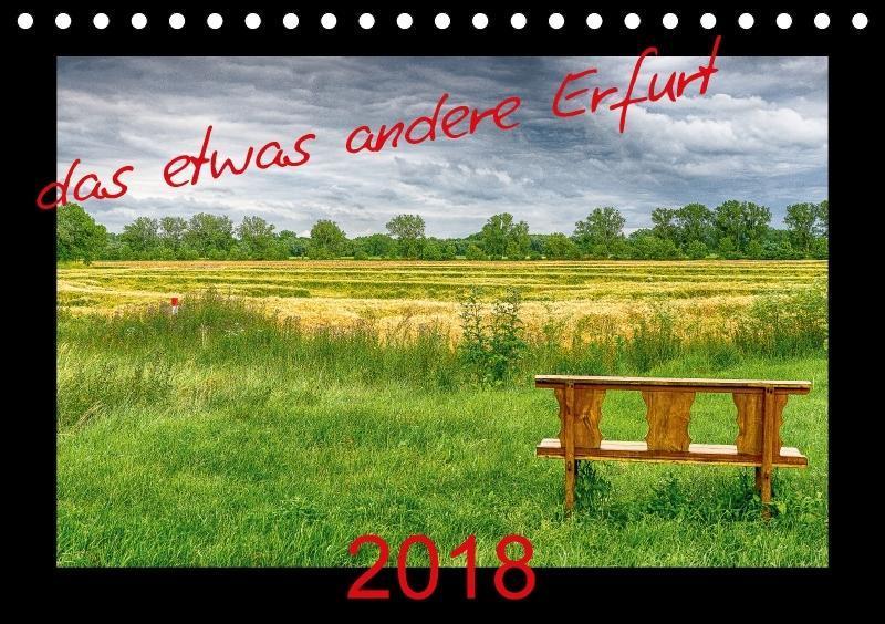 das etwas andere Erfurt (Tischkalender 2018 DIN...
