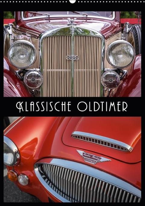 Klassische Oldtimer (Wandkalender 2018 DIN A2 h...