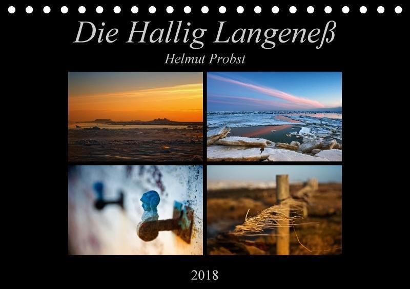 Die Hallig Langeneß (Tischkalender 2018 DIN A5 ...
