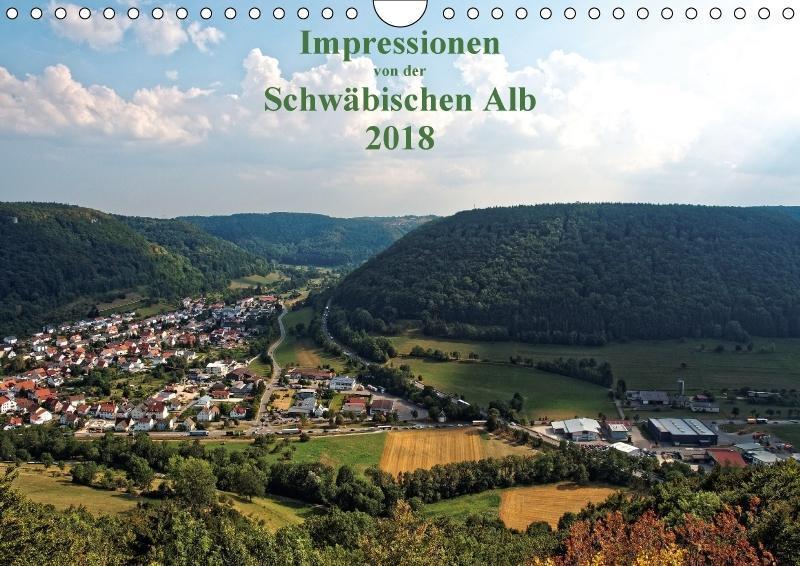 Impressionen von der Schwäbischen Alb (Wandkale...