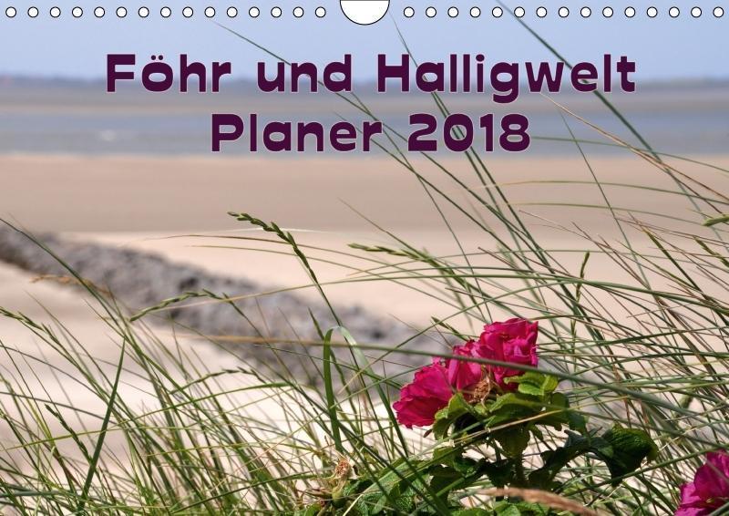 Planer Föhr und Halligwelt (Wandkalender 2018 D...