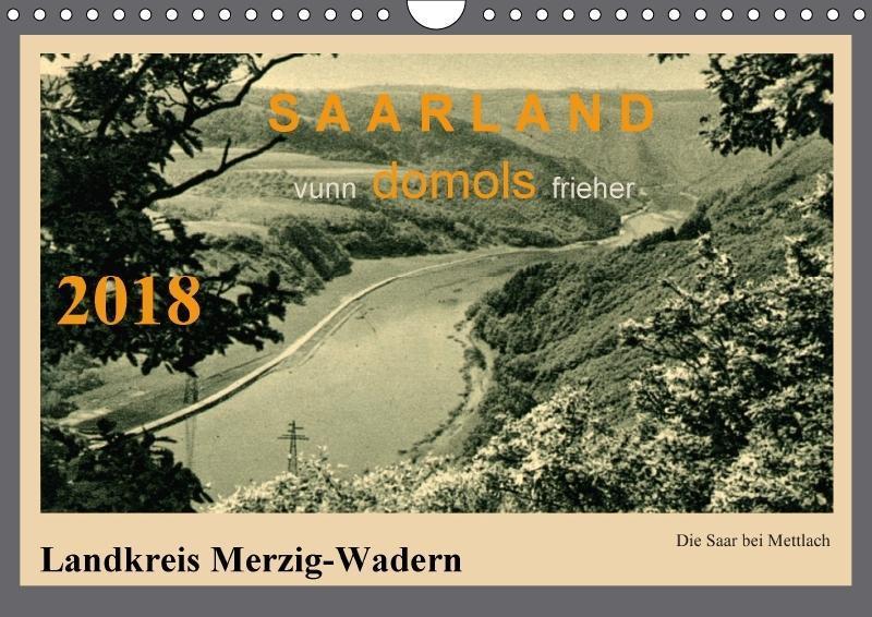 Saarland - vunn domols (frieher), Landkreis Mer...
