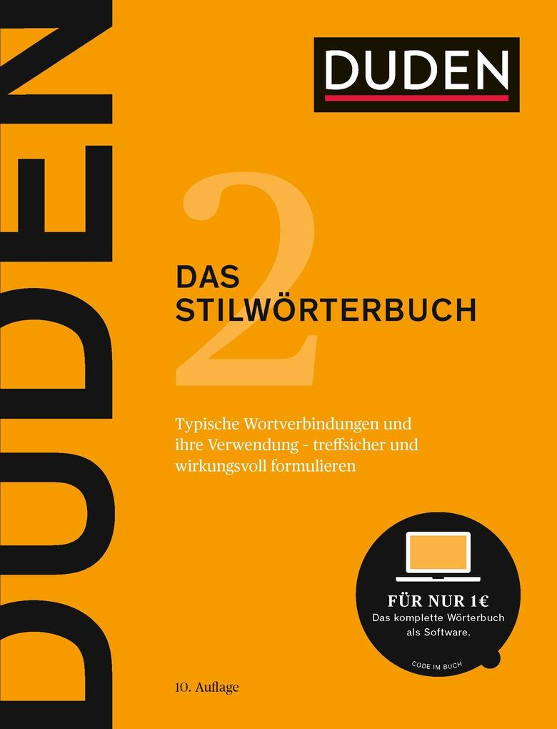 Duden - Das Stilwörterbuch (E-Book) als eBook D...