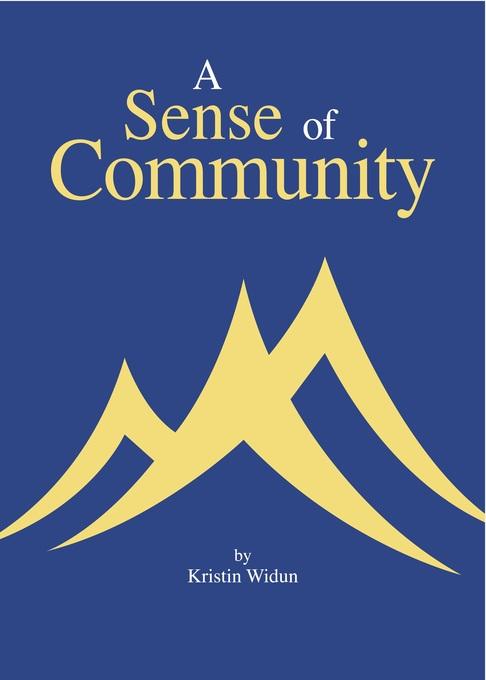 A Sense of Community als eBook Download von Kri...