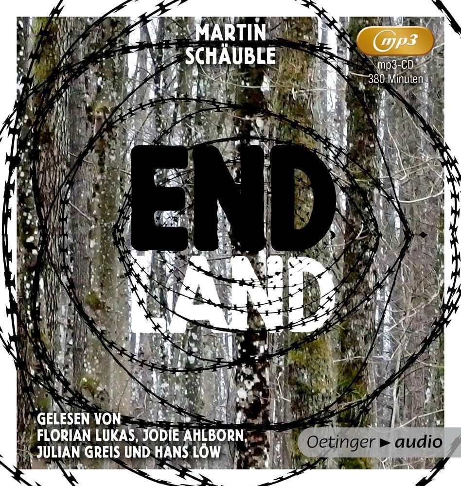 Endland (mp3 CD) als Hörbuch CD von Martin Schä...