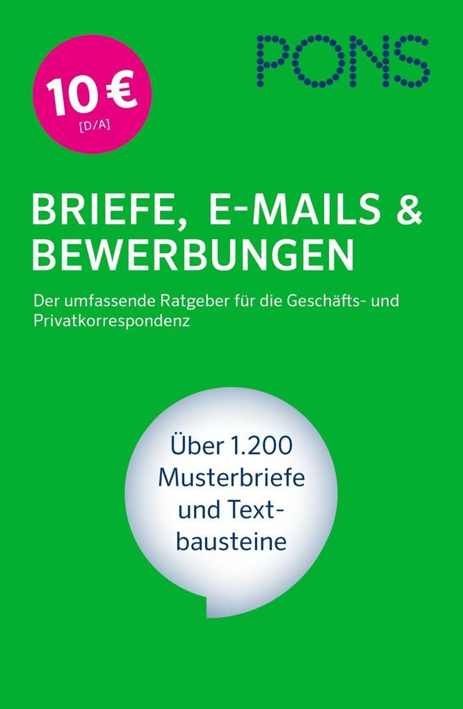 PONS Briefe, E-Mails & Bewerbungen als Buch von