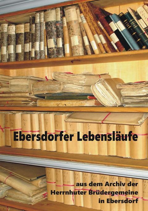 Ebersdorfer Lebensläufe als Buch von
