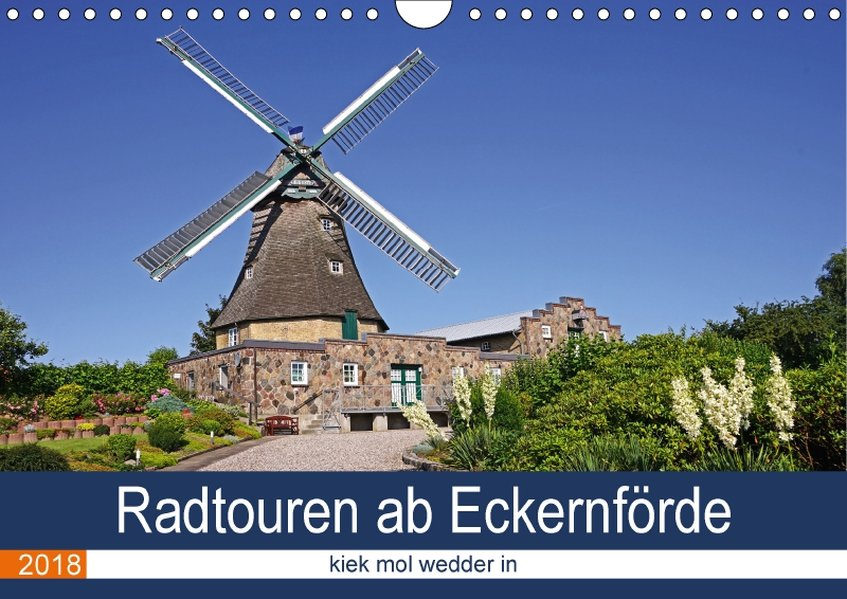 Radtouren ab Eckernförde (Wandkalender 2018 DIN...