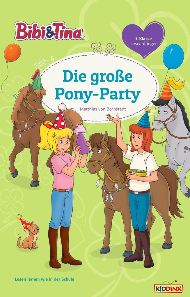 Bibi & Tina - Die große Pony-Party als eBook Do...