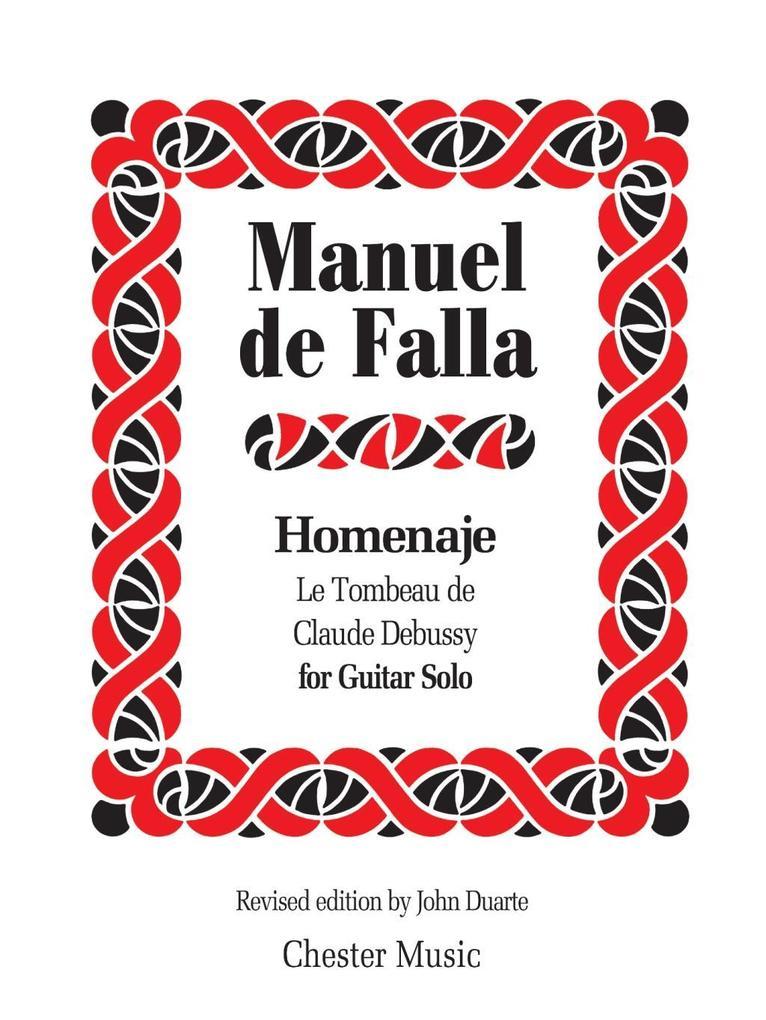 Manuel De Falla: Homenaje Le Tombeau De Claude ...