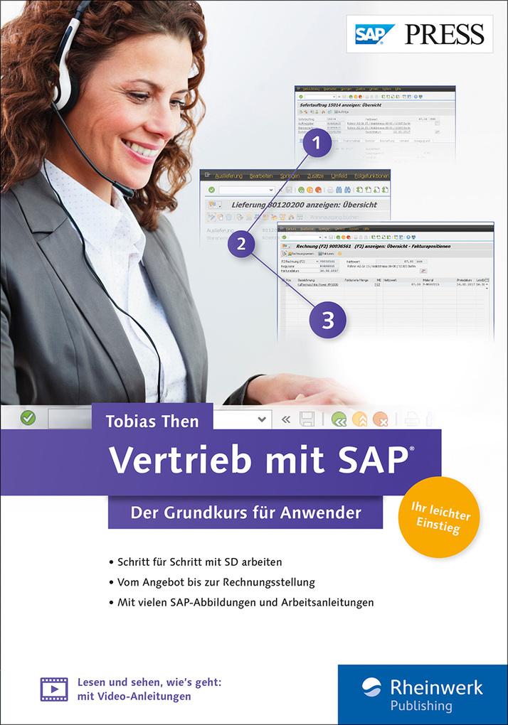 Vertrieb mit SAP. Der Grundkurs für Anwender al...