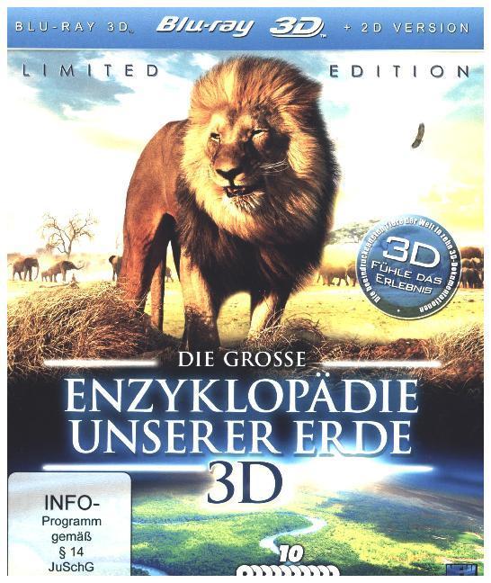Die Grosse Enzyklopaedie Unserer Erde 3d (Blu-Ray)
