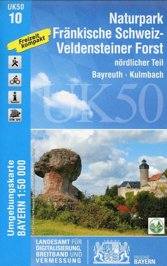 Naturpark Fränkische Schweiz nördlicher Teil 1 ...