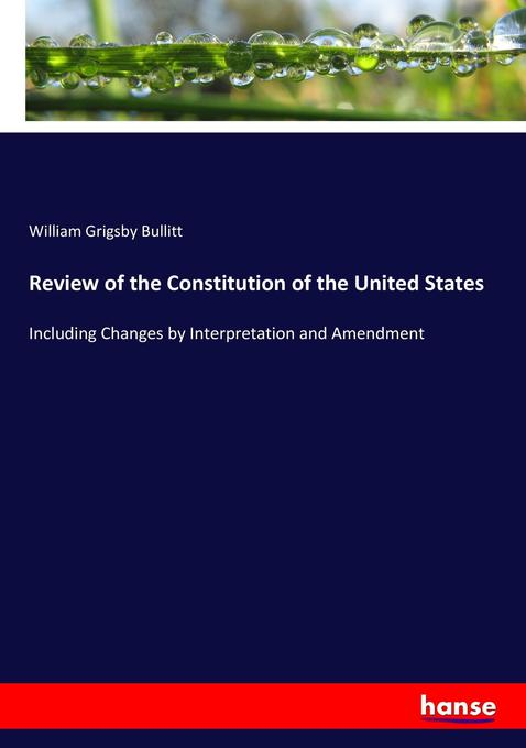 an analysis of the principles of constitution and the houses of congress The formation of the constitution in each of the two houses of congress guide to the constitution, a line-by-line analysis of the original meaning.